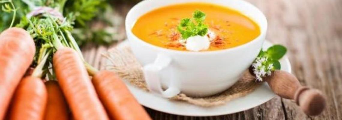 Суп з моркви з медом