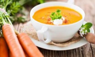 Суп з малини з медом