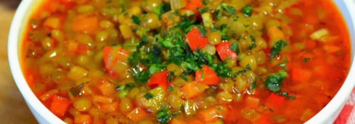 Гостро-солодкий зимовий суп