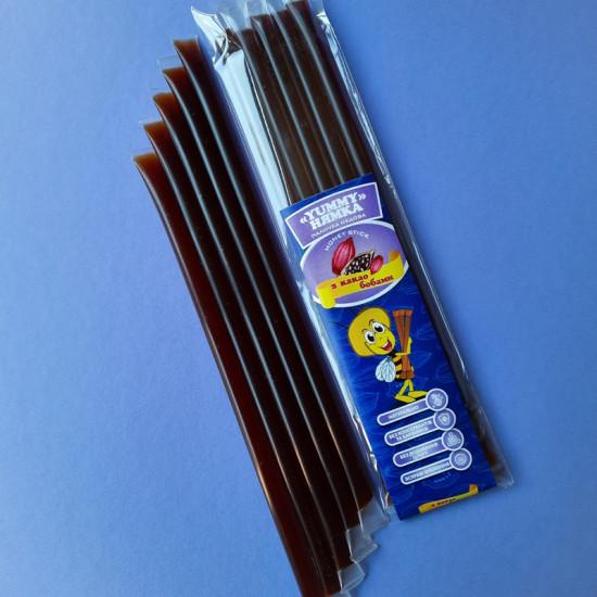 Мед у стіку Какао боби (шоколад) «НЯМКА», по 10 грамів (5 шт)