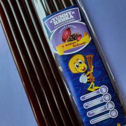 Мед в стике Какао бобы (шоколад) «НЯМКА», по 10 грамм (5 шт)