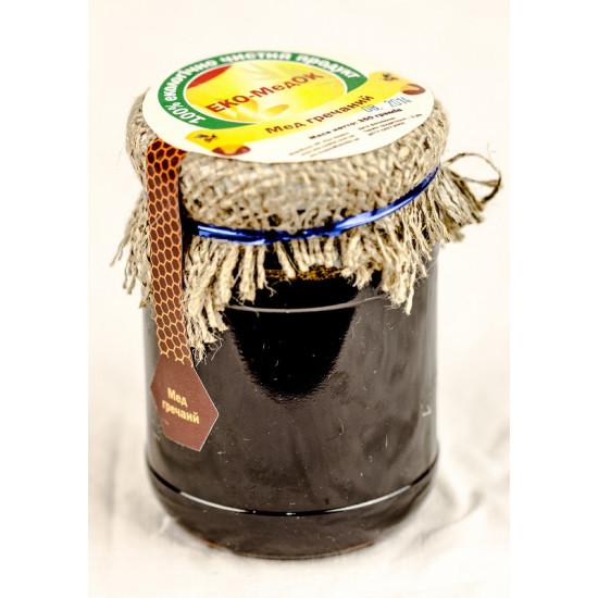 Мед гречаний ЕКО-МедОК, 350 грамів