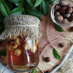 Мед з фундуком ЕКО-МедОК, 320 грамів