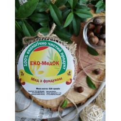 Мед с фундуком ЭКО-МедОК, 320 грамм