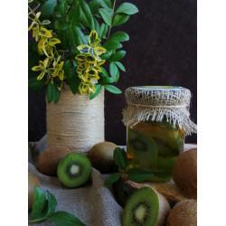 Honey with kiwi ECO-MedOK, 320 grams