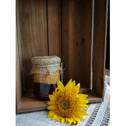 Honey with sesame ECO-MedOK, 320 grams