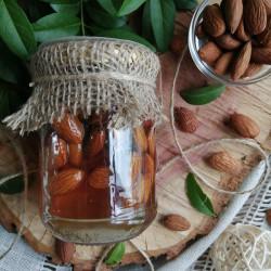 Мед з мигдалем ЕКО-МедОК, 320 грамів