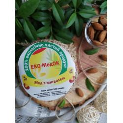 Мед с миндалем ЭКО-МедОК, 320 грамм