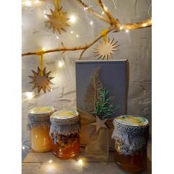"""Honey set """"New Year – 01"""" ECO-MedOK, 1 Kg"""