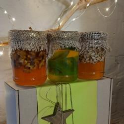 Набір меду «Новий рік – 02» ЕКО-МедОК, 1 кг