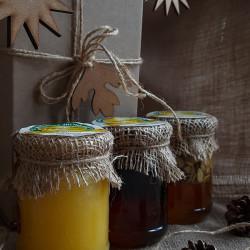 Набір меду «Подарунок коханому ласуні» ЕКО-МедОК, 1 кг