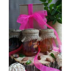 """Honey set """"Gift to  your beloved"""" ECO-MedOK, 1 Kg"""
