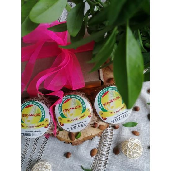 Набір меду «Подарунок коханій» ЕКО-МедОК, 1 кг