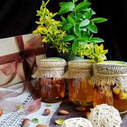 Набір меду «Подарунок шефу» ЕКО-МедОК, 1 кг