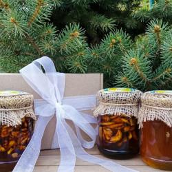Набір меду «Подарунок співробітникам» ЕКО-МедОК, 1 кг