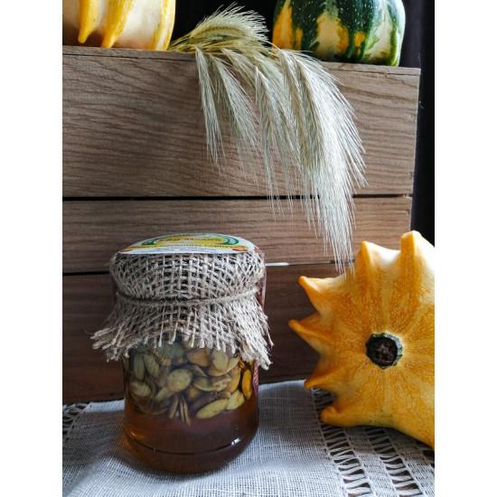 Мед з насінням гарбуза ЕКО-МедОК, 320 грамів