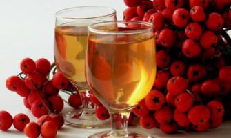 Горобино-яблучний напій